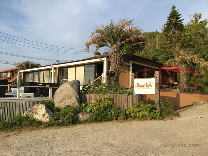 Hona Cafe(ホナカフェ)の入り口