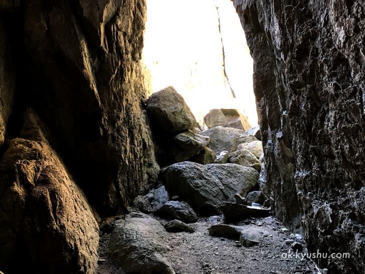 キリシタン洞窟(キリシタンワンド)の中に入りました