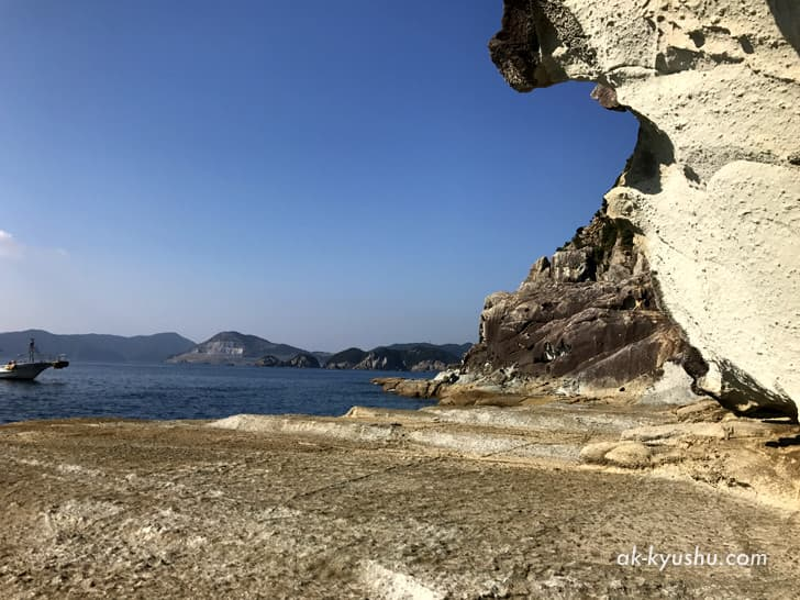 キリシタン洞窟(キリシタンワンド)の周りの風景