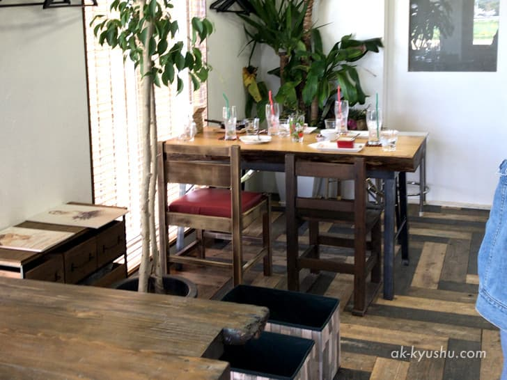 【福岡・糸島】cafe TANNAL(カフェタンナル)のインテリア
