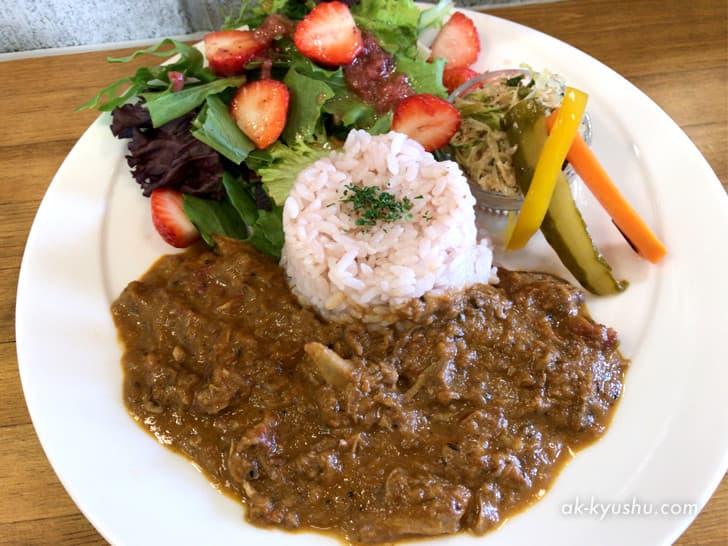 【福岡・糸島】cafe TANNAL(カフェタンナル)スパイシーチキンカレー