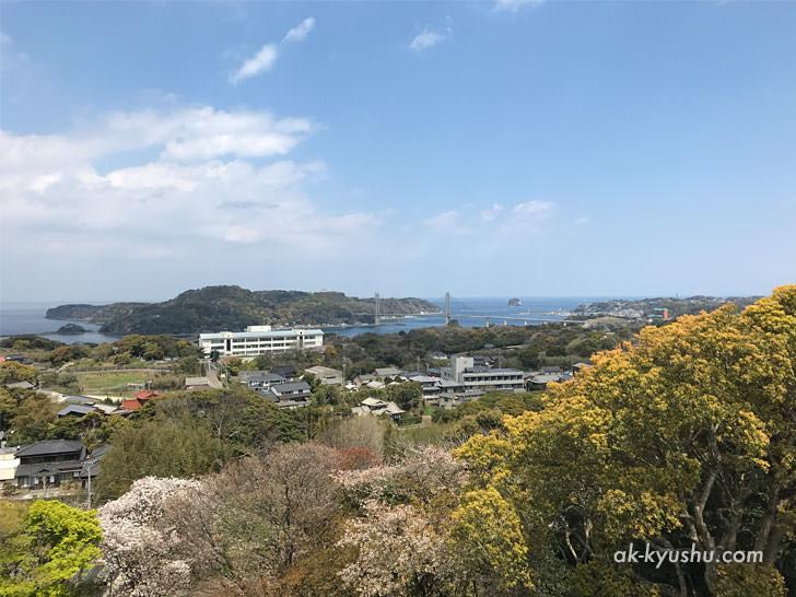 写真:唐津 名護屋城跡 本丸からの景色