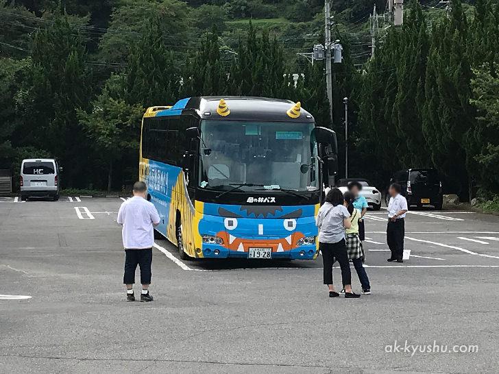 写真:大分別府 亀の井バス地獄めぐりコース観光バス