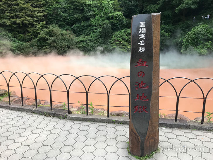 写真:大分別府 血の池地獄